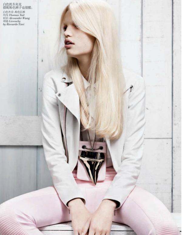 daphne groeneveld5 Vogue China: Prolećni povetarac
