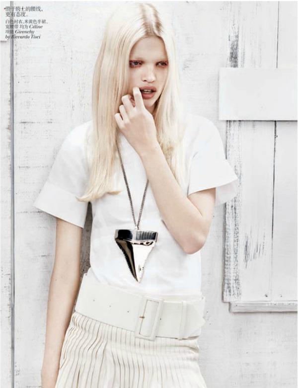 daphne groeneveld7 Vogue China: Prolećni povetarac