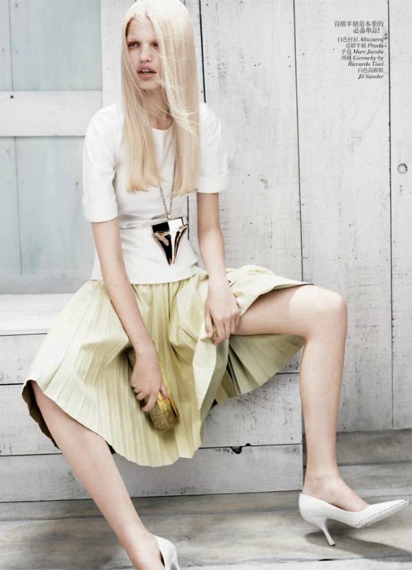 daphne groeneveld8 Vogue China: Prolećni povetarac