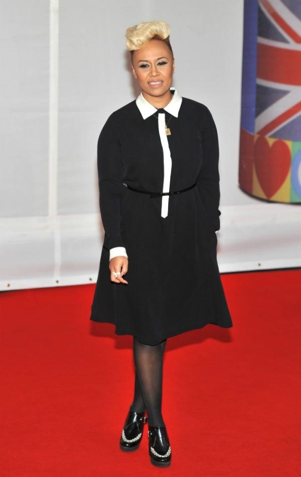 emeli sande Crveni tepih dodele nagrada BRIT 2012