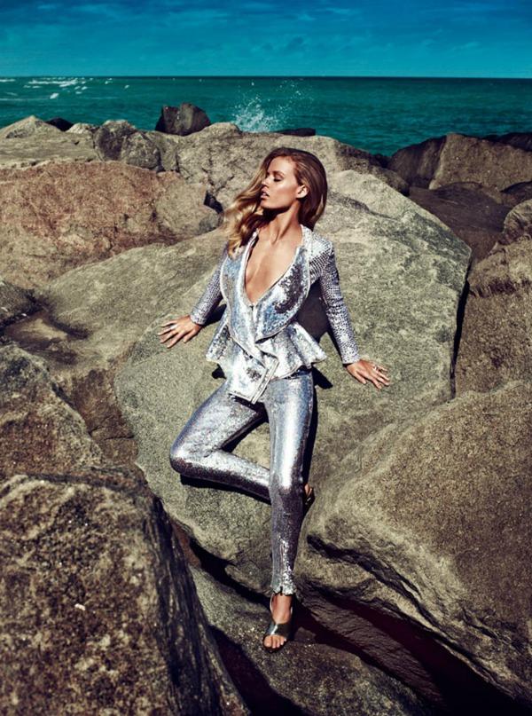 "georgia may jagger5 ""Harpers Bazaar UK"": Zlatna mladost"