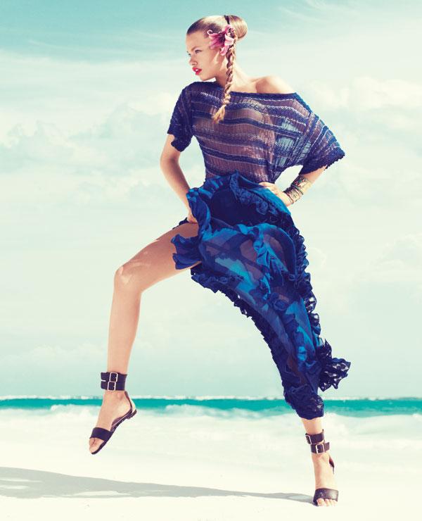 hailey bazaar 3 Harper's Bazaar US: Žurka na plaži