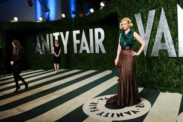 januaryjones Vanity Fair Oscar Party 2012