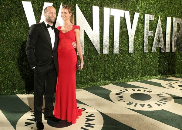 jasonstathamrosie1 Vanity Fair Oscar Party 2012