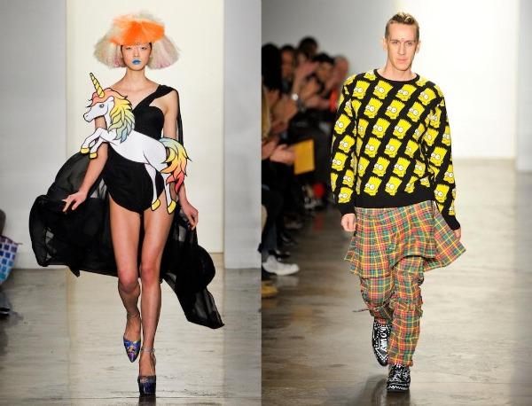 jeremy scott fall 2012 NYFW 21 Modni zalogaji: Vesele devedesete ponovo kucaju na vrata mode