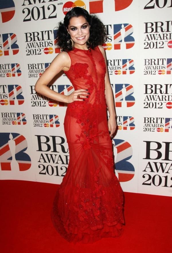 jessiejFalguni Shane Peacock picnik Crveni tepih dodele nagrada BRIT 2012