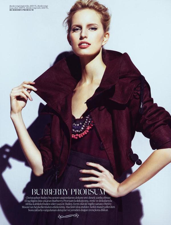 karolina turkey 2 Vogue Turkey: Modna princeza Karolina Kurkova
