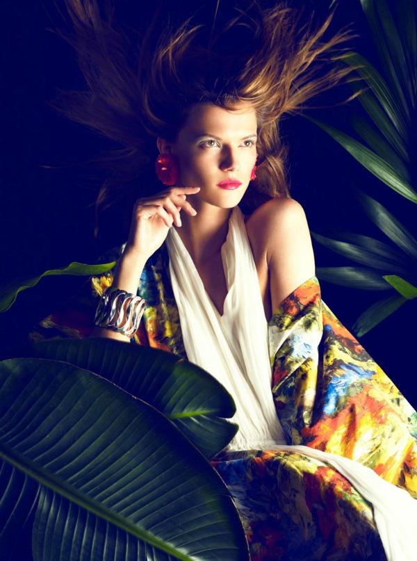 "kasia struss10 ""Hapers Bazaar Spain"": Sanjivi portreti"