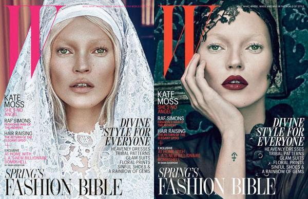 kate moss w magazine march 2012 cover Modni zalogaji: H&M Fashion Against AIDS