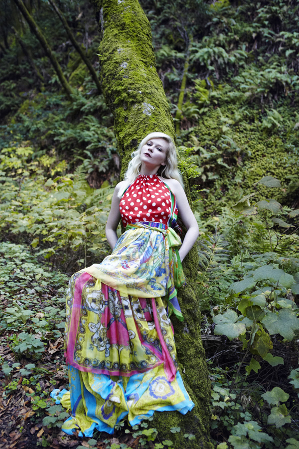 kirsten vogue italia 4 Vogue Italia: Kirsten Dunst kao šumska vila