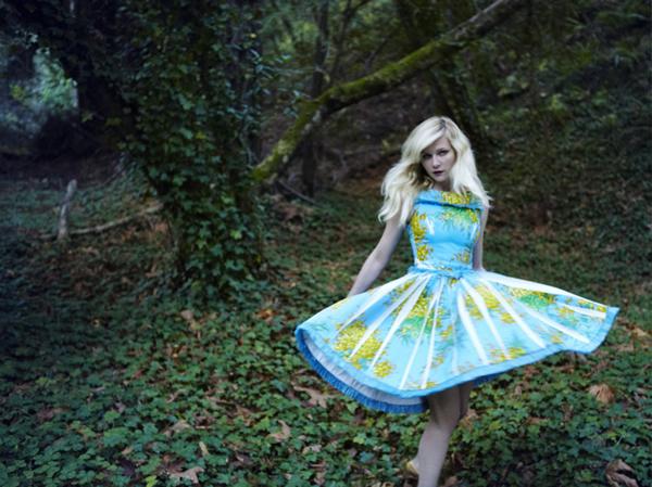 kirsten vogue italia 5 Vogue Italia: Kirsten Dunst kao šumska vila