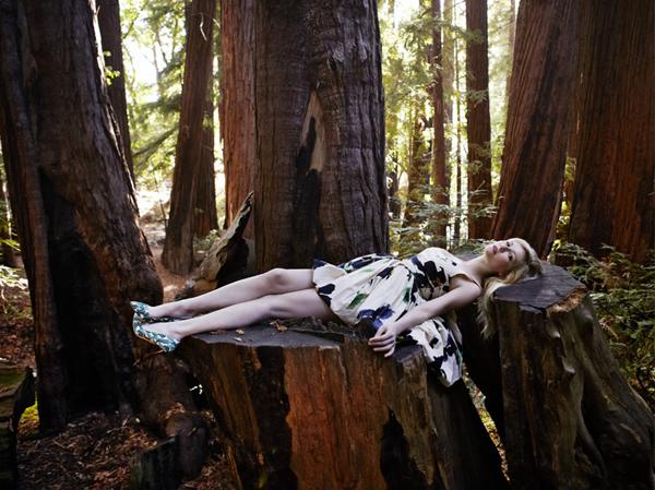 kirsten vogue italia 6 Vogue Italia: Kirsten Dunst kao šumska vila
