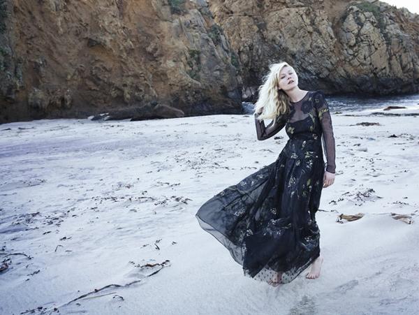 kirsten vogue italia 7 Vogue Italia: Kirsten Dunst kao šumska vila