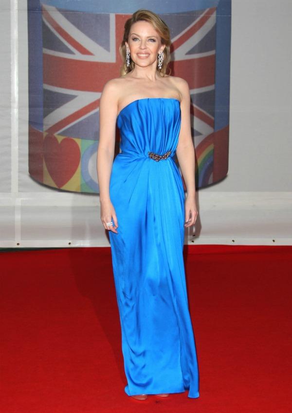 kylieYSL Crveni tepih dodele nagrada BRIT 2012