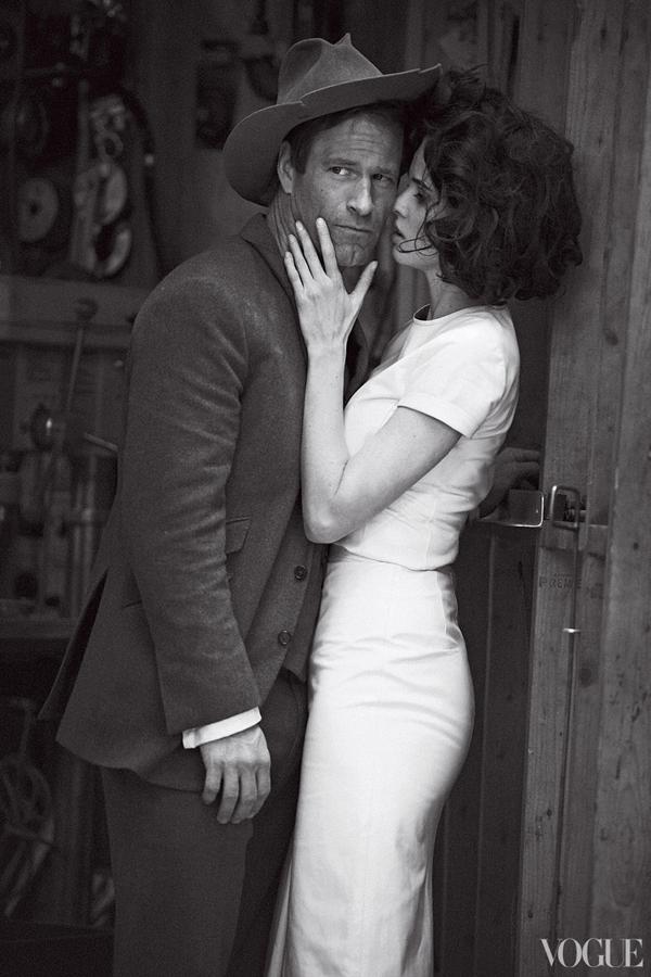 lara aaron 4 Vogue US: Džentlmen i dama