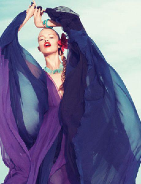 """Harper's Bazaar US"": Žurka na plaži"