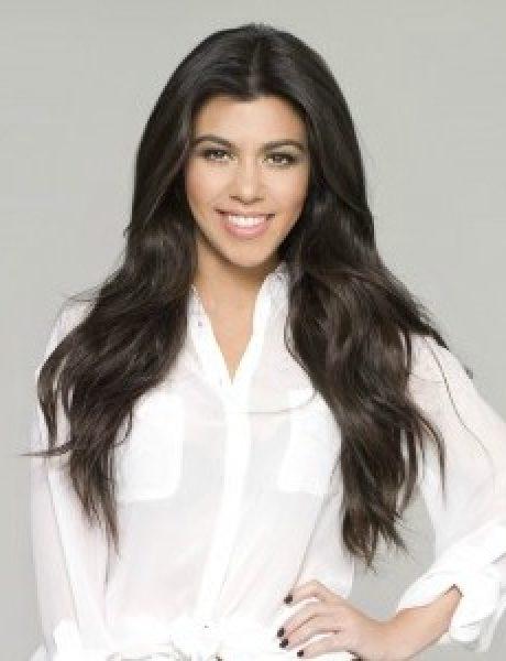 Street Style: Kourtney Kardashian