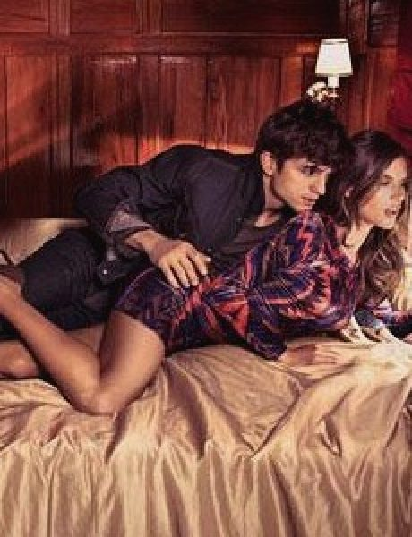 Modni zalogaji: Ashton Kutcher i Alessandra Ambrosio u krevetu