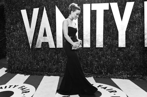 oliviawilde Vanity Fair Oscar Party 2012