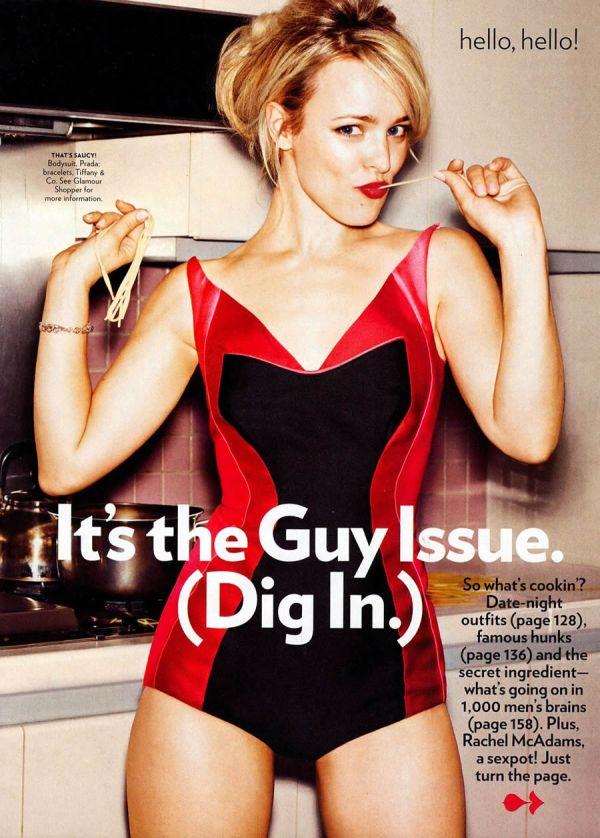 rachel 1 Glamour US: Zavodljiva Rachel McAdams