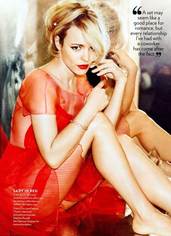 rachel 3 Glamour US: Zavodljiva Rachel McAdams