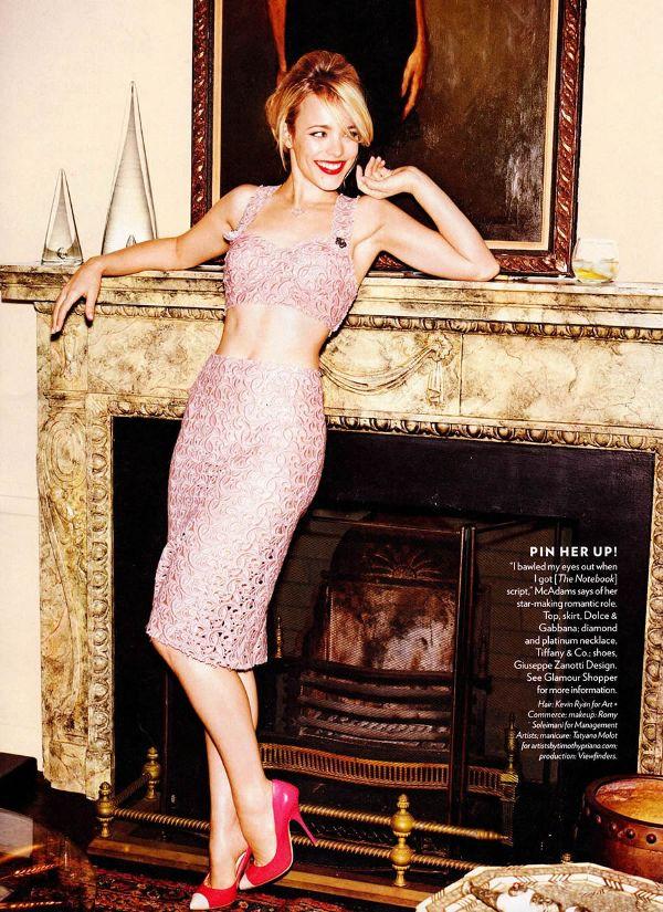 rachel 4 Glamour US: Zavodljiva Rachel McAdams