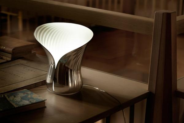 shiro studio alessi quotphylumquot table lamp 1 Da Vinci XXI: Vatra, cvetna lampa i koktel stolice