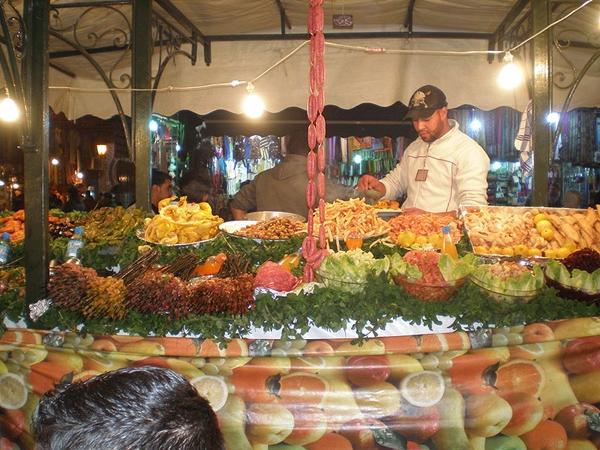 slika2 Trk na trg: جامع الفنا,  Marakeš