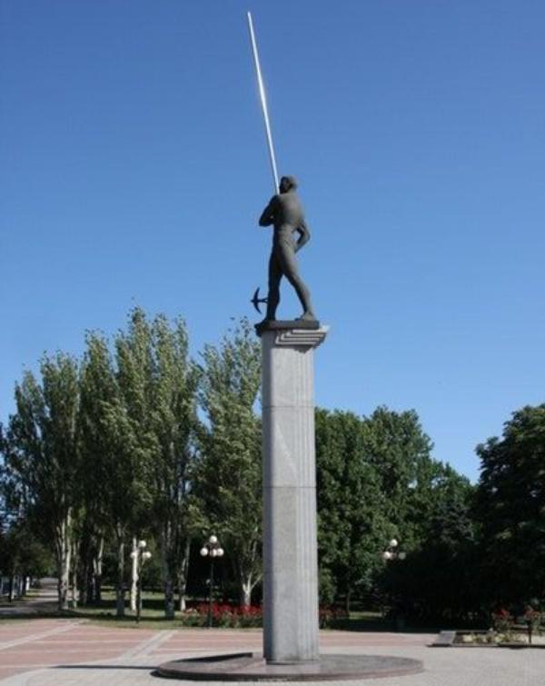 spomenik Ljudi koji su pomerali granice: Sergey Bubka