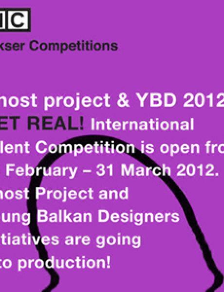 """Kulturna organizacija MIKSER najavljuje: Inicijative """"Ghost Project"""" i """"Young Balkan Designers"""" ulaze u proizvodnju!"""