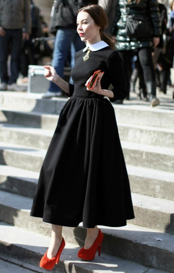 ulyana sergeenko personal style03 Street Style: Ulyana Sergeenko
