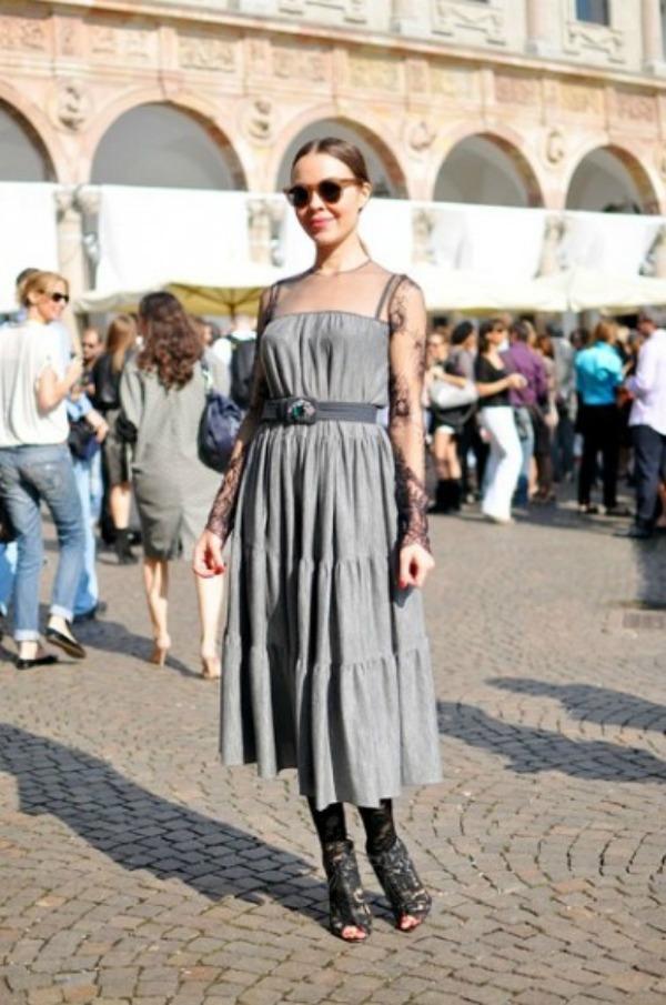 ulyana16 Street Style: Ulyana Sergeenko