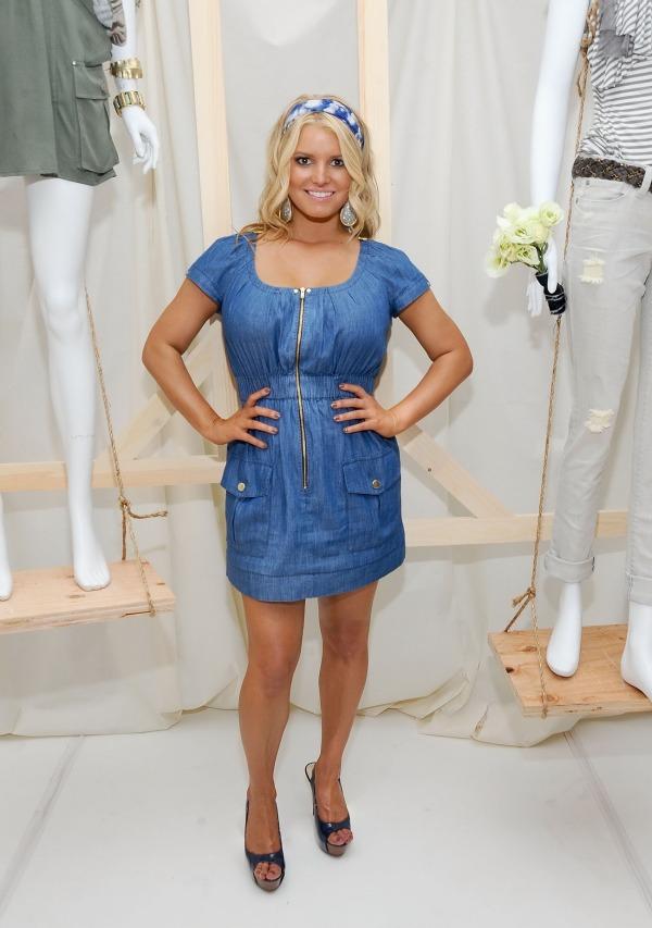 01 picnik 10 odevnih kombinacija: Jessica Simpson