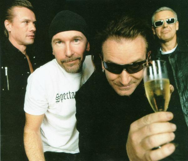 1. U2 Najbolji muzičari sa ostrva piva