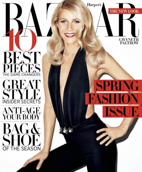 """19 """"Harpers Bazaar US"""": Elegantna Gwyneth Paltrow"""