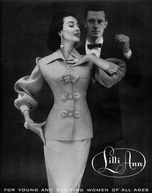 1955 Vintidž moda: Elegantna odela