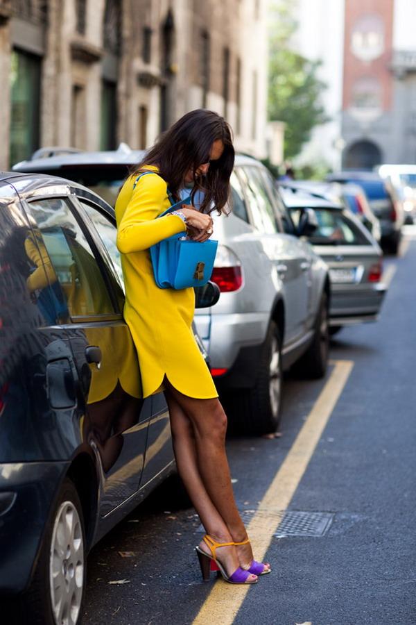 244 La Moda Italiana: Street Style inspiracija