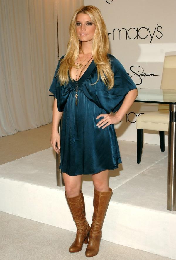 2 picnik 10 odevnih kombinacija: Jessica Simpson