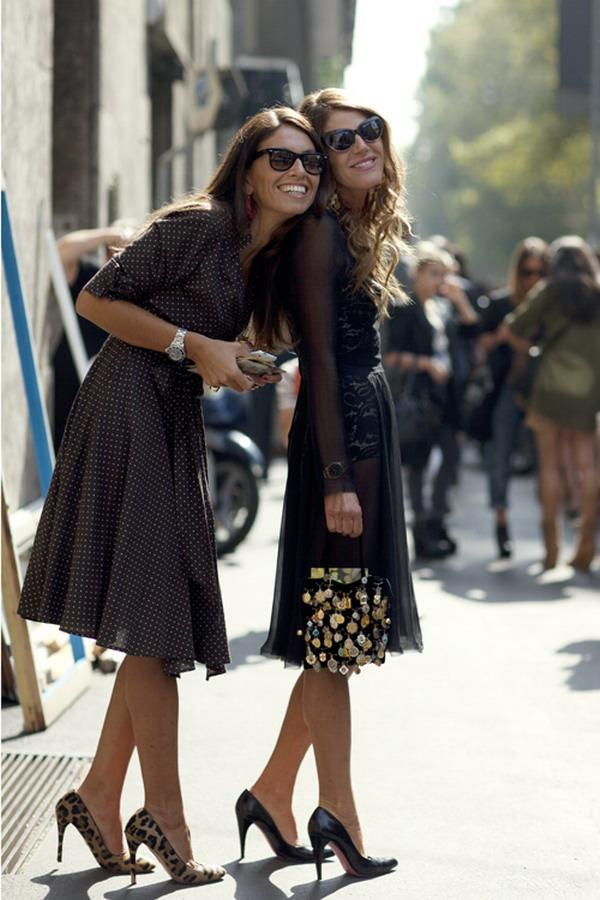 528 La Moda Italiana: Street Style inspiracija