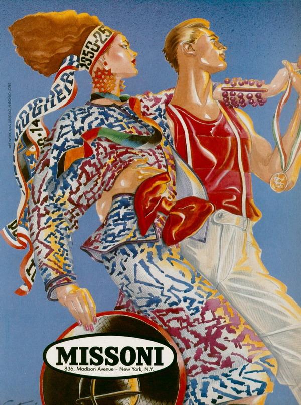70s La Moda Italiana: Missoni, ljubav i moda