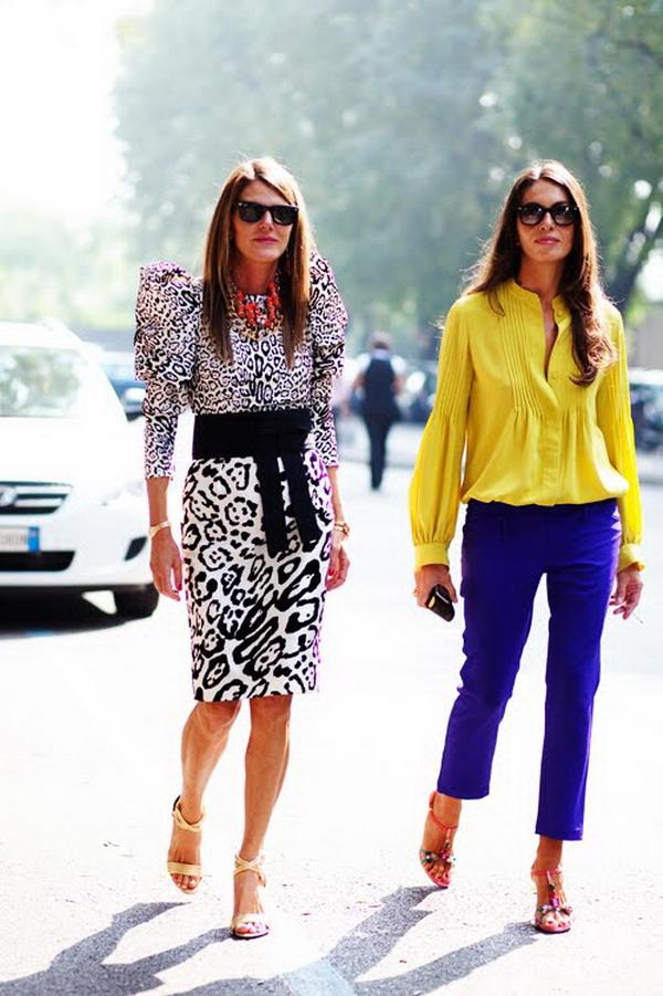715 La Moda Italiana: Street Style inspiracija