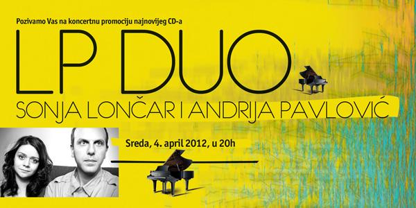 A LP Duo: Koncertna promocija u Parobrodu