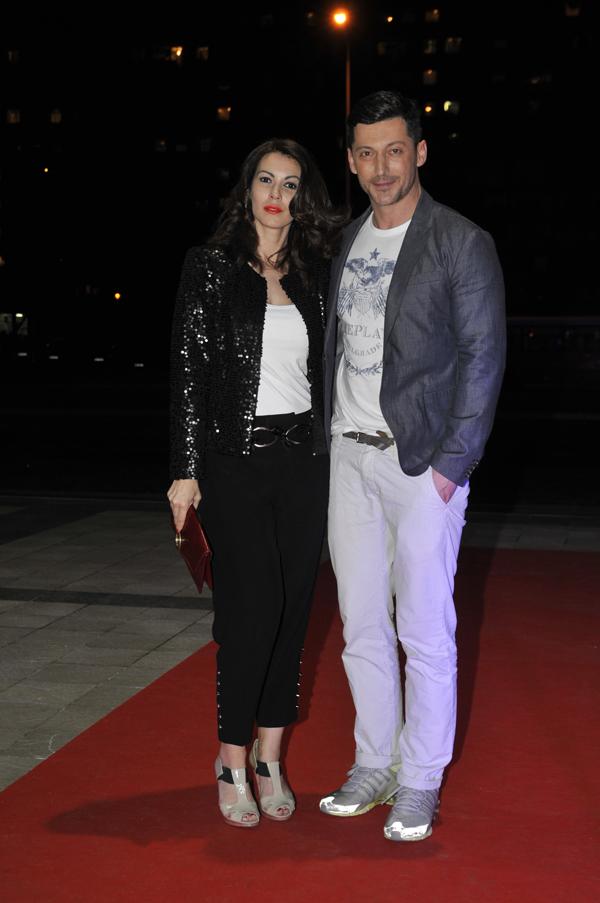 Bosko i Lena Bogdanovic.jpg Počeo 31. Amstel Fashion Week