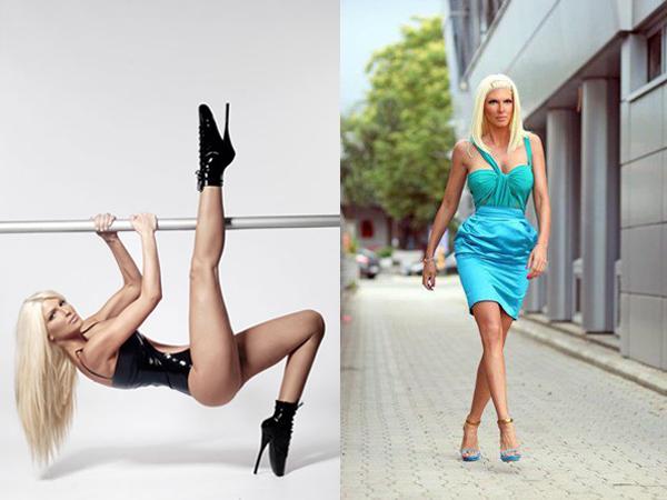 Foto 2 Najbolje noge na estradnoj sceni ima...