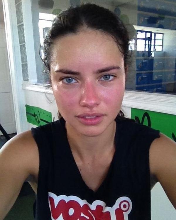 Lima Trach Up: Adriana Lima bez šminke