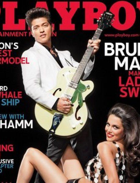 """Bruno Mars na naslovnoj strani magazina """"Playboy"""""""