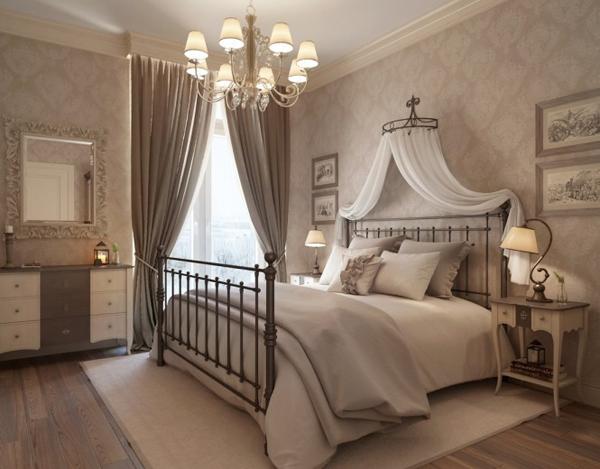 Neutral taditional bedroom 665x520 Pastelni apartman