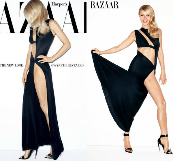 "Picnik collage21 ""Harpers Bazaar US"": Elegantna Gwyneth Paltrow"