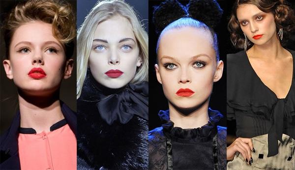 Slika 1 Njegovo visocanstvo crveni karmin Sedam prolećnih make up trendova