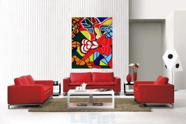 Slika 112 Boje u enterijeru: Crvena